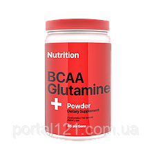 Аминокислоты BCAA с глютамином (аминокислоты bcaa, глютамин) 1000 г порошок