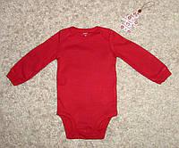 Боди  Carter's красного цвета 72-78