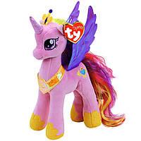 Мягкая игрушка Май литл пони принцесса Каденс высотой 23 см. Оригинал Ty Inc