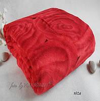 Плед из микрофибры Роза красная, 160*210, 200*220, Польша, фото 1