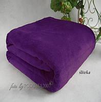 Плед из микрофибры Фиолетовый, 160*210, 200*220, Польша