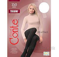 Колготы белые плотные для женщин Triumf 150 Den Conte 8С-57СП Bianco 2