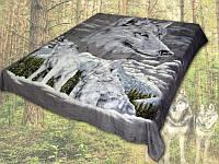 Плед из микрофибры Волки, 160*210, 200*220, Польша, фото 1