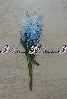 Добавка тычинка лаванда бело-голубая