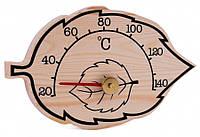 Термометр для бани SAWO 185 T кленовый лист