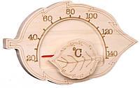 Термометр для бани SAWO 195 T кленовый лист