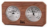 Термогигрометр SAWO 221 THD кедр