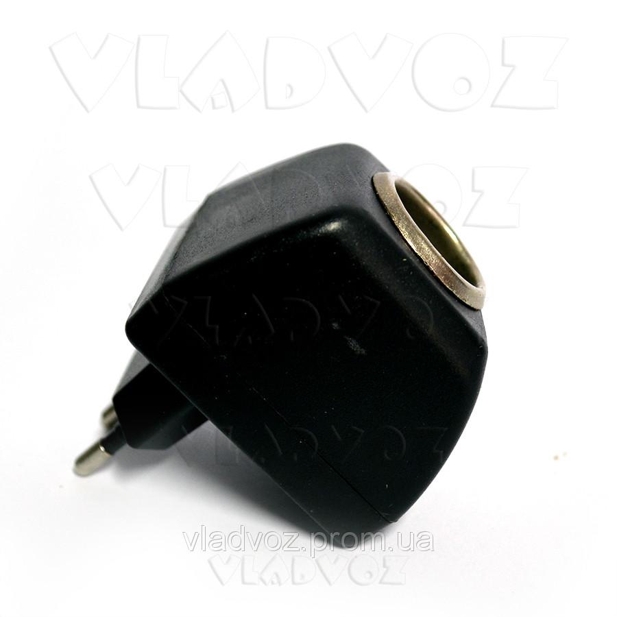 Сетевой адаптер, преобразователь 220 на 12V с разъемом прикуривателя