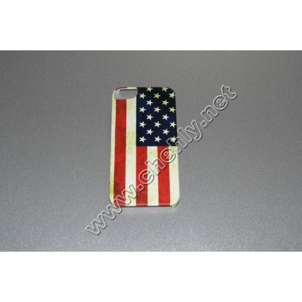 Пластиковый чехол iPhone 5/ 5s MUVIT флаг США