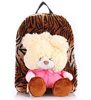 Рюкзак тигровый с медведем Рoolparty