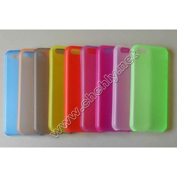 Ультратонкий пластиковый чехол iPhone 5c