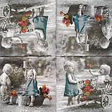 Салфетка декупажная Детки 6548, фото 3