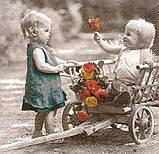 Салфетка декупажная Детки 6548, фото 2