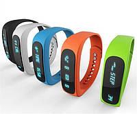 Умные часы E02 smart band (спортивный браслет, пульс, шагомер)
