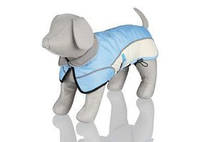 TRIXIE TX-30243 Попона зимняя для собак TRIXIE- Avallon, голубой/кремовый Размер: 40см