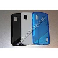 Силиконовый чехол волна LG Nexus 4 E960