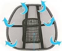 Массажер для спины, Массажный упор в авто или кресло