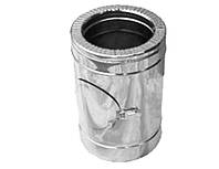 Ревизия дымоходная нерж/оцинк Версия Люкс D-140/200 1 мм