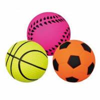 TX-34390 мяч для собак спортивный (резина) 4.5см