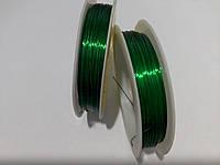 Зеленая проволока для рукоделия
