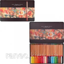 Карандаши цветные Marсo 36 цветов в металлическом пенале Fine Art-36TN