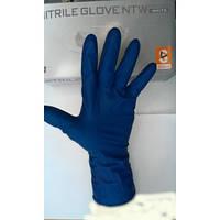 Перчатка латексная синяя