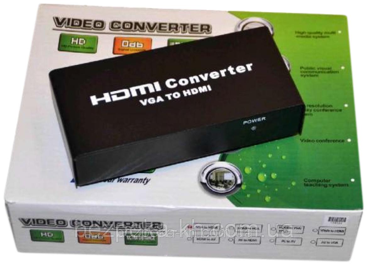 Video Converter  VGA-HDMI