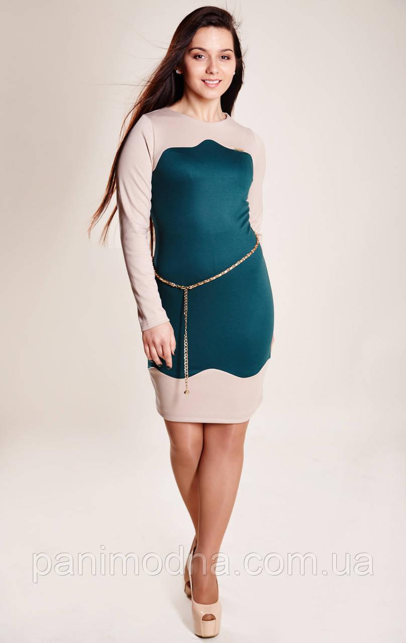Модное молодежное платье фото