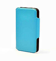Кожаный чехол(книжка) Casual Style Series для Xiaomi Redmi Note 3 SE Голубой