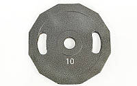 Блины (диски) стальные с хватом отв. d-52мм UR Newt  10кг (цена за пару)