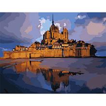 Картина по номерам Замок Сен-Мишель