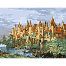 Картина по номерам Замок-город