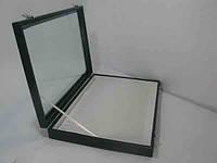 Торговая коробка со стеклянной крышкой под цепочки,подвески
