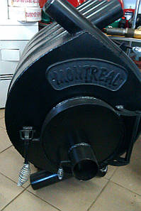 Канадская печь Bullerjan MONTREAL  тип 02 НОВОСЛАВ