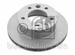 Передний тормозной диск на MB Sprinter, VW LT 1996-2006 — Febi (Германия) — FE07517