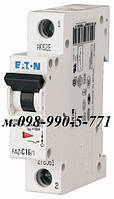 Автоматический выключатель однополюсный Moeller/Eaton cерии PL4-C16А/1, фото 1