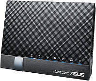 ADSL-роутер ASUS DSL-AC56U ADSL2+/VDSL2 802.11ac AC1200, 1xRJ11xDSL, 4xLAN Gbps, 2xUSB 2.0