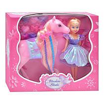 Лошадка с куклой (212 A)