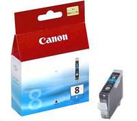 Чернильница Canon CLI-8C (Cyan) iP4300/4500/5300/ 6700D, iX4000/5000, MP500/530/800/830, Pro9000