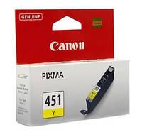 Чернильница Canon CLI-451Y (Yellow) PIXMA MG5440/MG6340