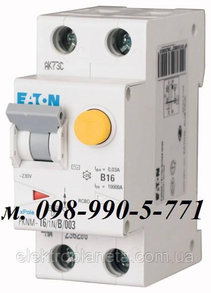 Дифференциальные автоматы moeller/eaton PFL6. Дифавтомат. 16А