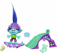 Фигурка Hasbro Тролль Цветан на скейте (Branch's Skate 'n Skitter) 10 см