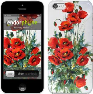 "Чехол на iPhone 5c Маки ""523c-23"""