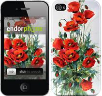 """Чехол на iPhone 4s Маки """"523c-12"""""""