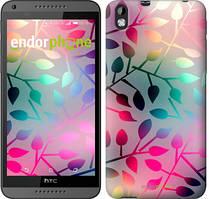 "Чехол на HTC Desire 816 Листья ""2235u-169"""