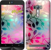 """Чехол на Asus ZenFone Selfie ZD551KL Листья """"2235u-116"""""""
