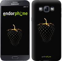 "Чехол на Samsung Galaxy A8 A8000 Черная клубника ""3585u-135"""