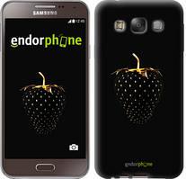"Чехол на Samsung Galaxy E7 E700H Черная клубника ""3585u-139"""
