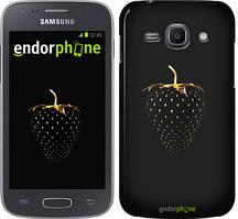 """Чохол на Samsung Galaxy J1 (2016) Duos J120H Чорна полуниця """"3585u-262"""""""