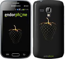 "Чехол на Samsung Galaxy Young S6310 / S6312 Черная клубника ""3585u-252"""